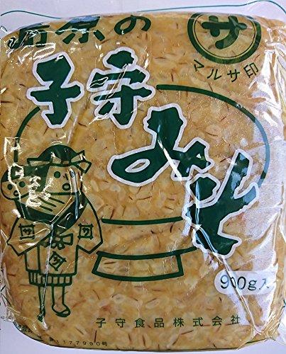 島原の子守みそ(麦みそ) 900g×2袋