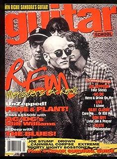 Guitar School March 1995 Rem Page and Plant AC/DC Live Bon JOvi Zeppelin MBX62