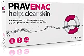 Work With Water HELP CLEAR SKIN 28DAYS natural anti-bacterial lactoferrin a clinically proven natural way to help reduce spots and acne Estimated Price : £ 34,90
