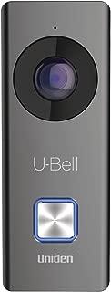 Uniden U-Bell WiFi Video Doorbell, 4 Color faceplates (DB1)