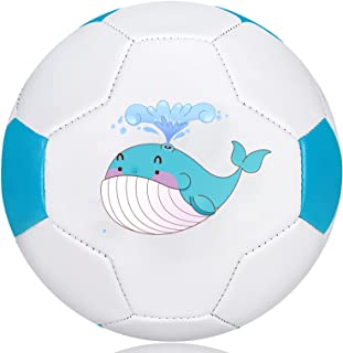 """Soccer Ball for Baby/Toddlers,Mini Soccer Balls Size 1.5, 6"""" Kids Toy Ball for Indoor Outdoor Play Games,Small and Lightwe..."""