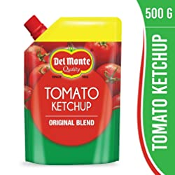 Del Monte Tomato Ketchup Spout Pack, 500g