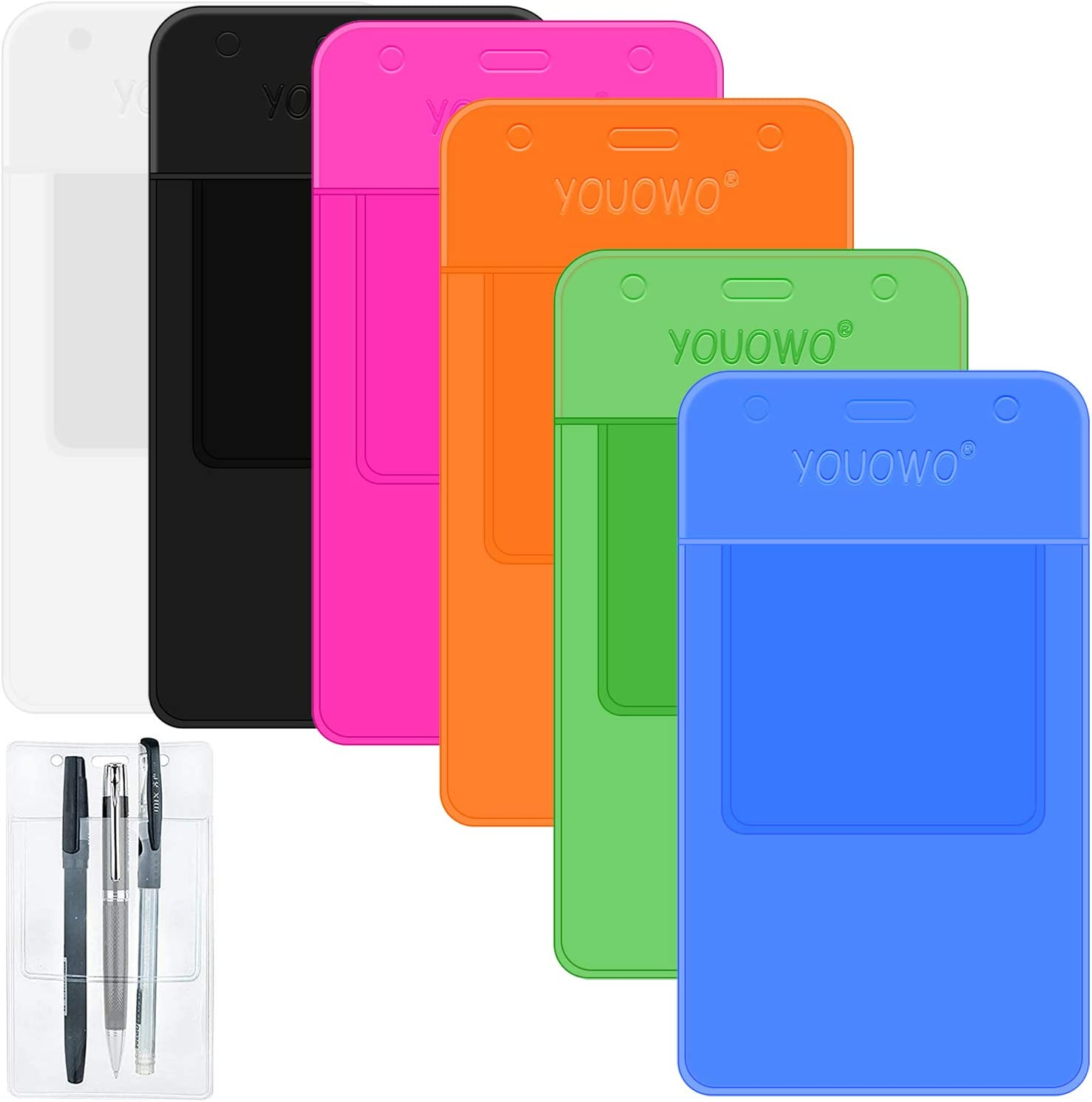 Pocket Protectors YOUOWO 6 Pack Ranking TOP20 Protector Heavy Duty Clea Gorgeous