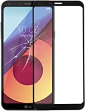 LIUDSASSBFQINGR Replacement Parts Front Screen Outer Glass Lens for LG Q6 / Q6+ LG-M700 M700 M700A US700 M700H M703 M700Y(Black) Outer Glass Lens (Color : Black)