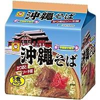 マルちゃん 沖縄そば袋 5食×6パック×1