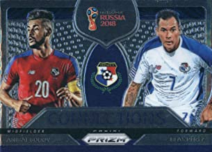 2018 Panini Prizm World Cup Connections #14 Anibal Godoy/Blas Perez Panama Soccer Card