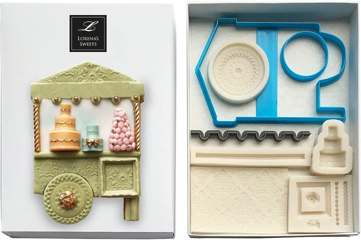 Lorena S Sweets Fondant Cookie Kit Dessert Cart