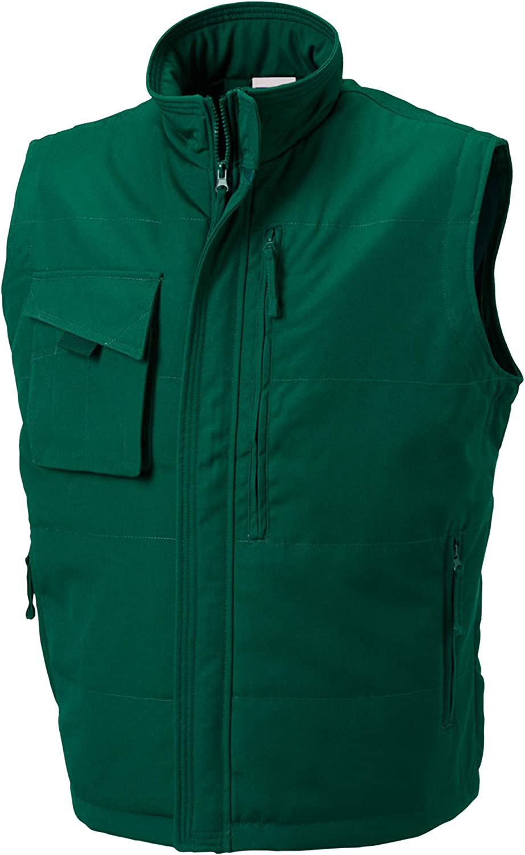 Russell Mens Workwear Gilet Jacket