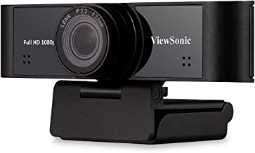 ViewSonic VB-CAM-001 Full HD 1080p USB Web Camera w/Dual Stereo Microphone with Auto Noise Reduction,110 Degree Ultra-Wide...