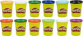 Play-Doh - Pack 12 Botes Colores Frios (Hasbro E4830F02)