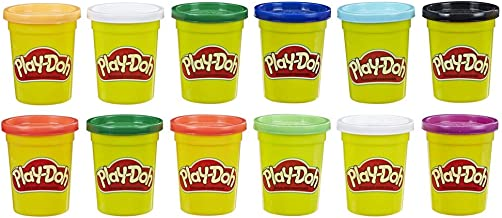 Play-Doh - Pack 12 Botes Colores Frios (Hasbro E4830F02)