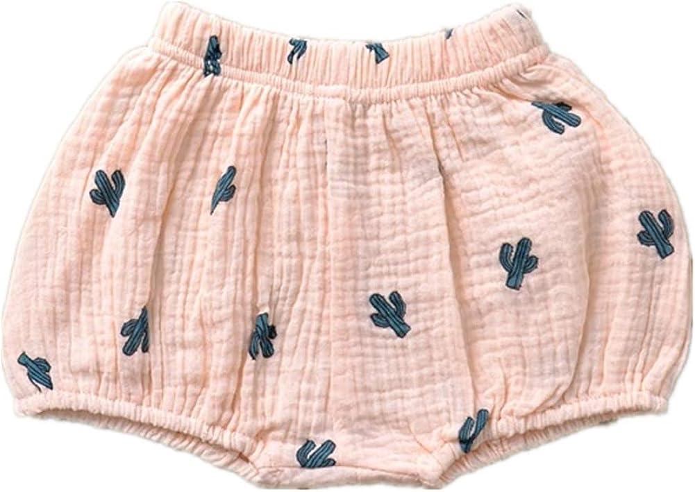 AYIYO Unisex Baby Cotton Linen Shorts Carton Harem quality assurance New life Loose Bloomer