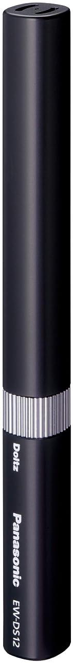 画像鑑定気味の悪いパナソニック ポケットドルツ 音波振動ハブラシ 黒 EW-DS12-K