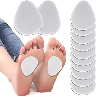 """Sponsored Ad - ActFun 6 Pairs (12 Pieces) Felt Metatarsal Pads, 1/5"""" Thick Reusable Breathable Ball of Foot Cushions, All ..."""