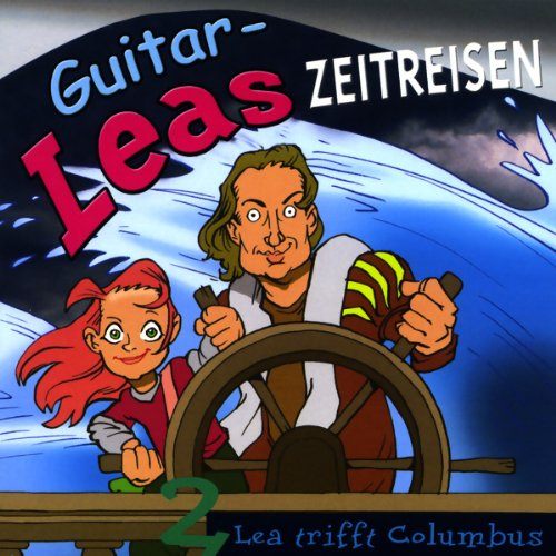 Lea trifft Columbus audiobook cover art