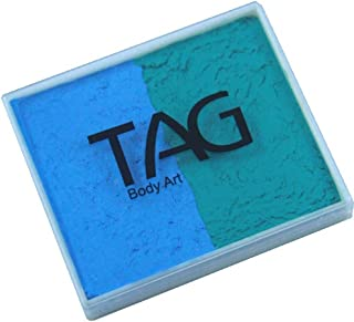 TAG 2 Color Split Cake - Teal and Light Blue (50 gm)