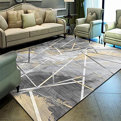 RUGS-YZ Childrens Rug grey Salon carpet gray messy thin lines old pattern anti-dirty carpet anti-slip Home Carpets 40X60CM Nursery Rug 1ft 3.7''X1ft 11.6''