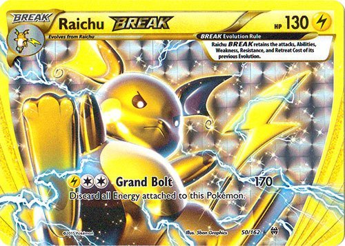 Pokemon - Raichu-Break (50/162) - XY Breakthrough