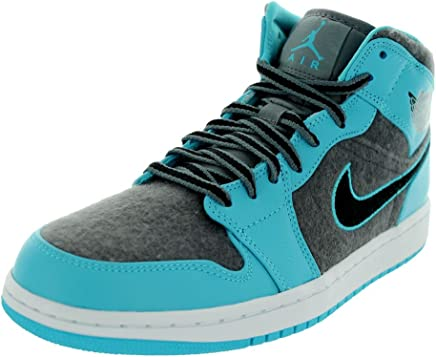Nike Air Jordan 1 Mid Herren US 10.5 Blau BasketballSchuh B00FY6WYLS   New Products