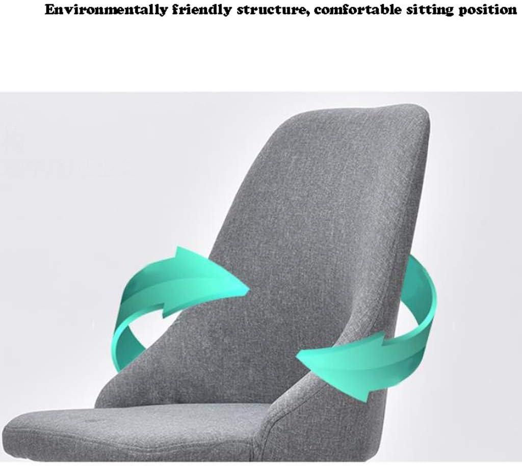 Stable Simple chaise bureau étudiant et chaise de maquillage tabouret retour à la maison à manger chaise d'ordinateur Gratuit (Color : Dark brown) Variegated