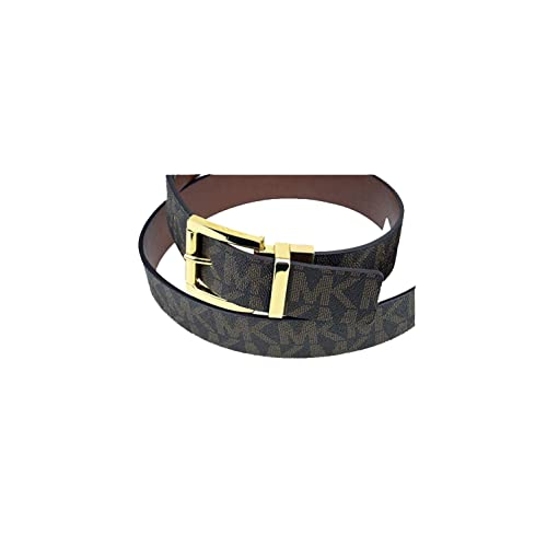 04a61762db9d Michael Kors Womens Signature Reversible Belt Brown
