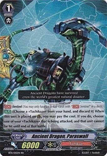 Cardfight   Vanguard TCG - Ancient Dragon, Paraswall (BT11 015EN) - Seal Dragons Unleashed by Cardfight   Vanguard TCG