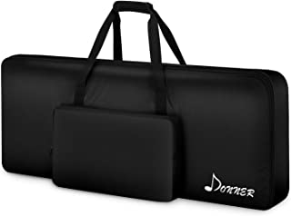 Donner 61 Key Keyboard Case Bag, Electric Piano Padded Case Gig Bag 40