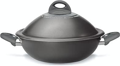 Pensofal 07PEN8633 Platino Bio-Ceramix Non-Stick Vapsi Steam Cooker Wok Set, 11-Inch