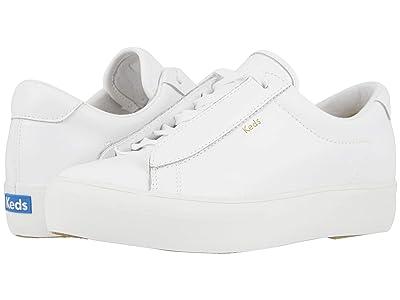 Keds Rise Metro Leather (White Leather 2) Women