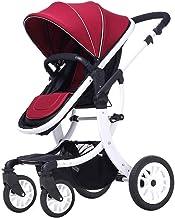Sillas de paseo Cochecito de bebé puede sentarse y acostarse for plegar la de la década de los niños del bebé cuatro estaciones paisaje de la alta mano carro de bebé Cochecito de bebé ( Color : C )