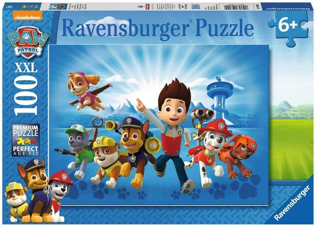 PAW Patrol - Puzzle: Ryder und die Paw Patrol, 100 XXL Teile