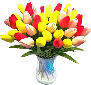 Best pink and yellow tulips bouquet Reviews