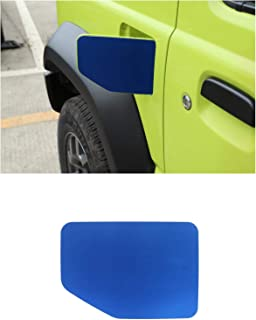 Blue Highitem Newest Exterior Fuel Tank Cover Gas Lid Cap Accessories ABS for Ford Mustang 2015 Up