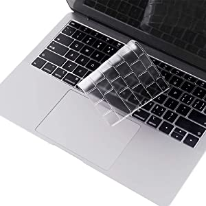 Premium Keyboard Cover Compatible with MacBook Air 13 (Model: A1932, 2018-2019), MacBook Air 13 Keyboard Cover, US Layout - TPU