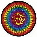 Patch Parche termoadhesivo, diseño de la India Nepal Yoga Tibet