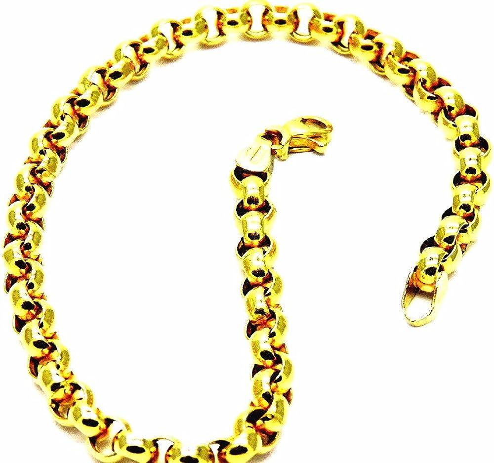 Pegaso gioielli bracciale oro giallo 18kt (750) BR118