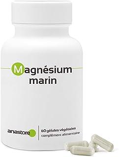 MAGNESIO MARINO * Contenido superior al 58.8 % en magnesio elemental * 300 mg / 60 cápsulas vegetales * Extracto puro
