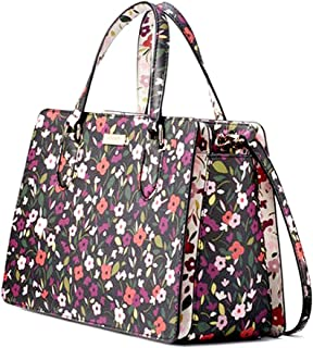 Kate Spade Laurel Way Boho Floral Reese Women's Leather Handbag Satchel