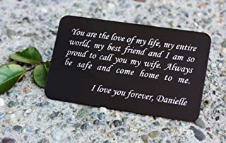 Best wallet insert card personalized Reviews