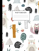 Notebook: Cute Lined Journal Ruled Composition Note Book to Draw and Write In - School Supplies for Elementary, Highschool and College (8.5 x 11 Size 100 Writing Pages) Cover Design 299