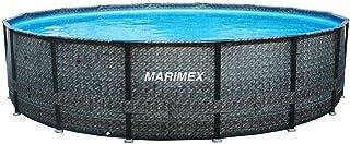 Marimex Florida Piscina Premium Ratan I Piscina de Pared de Acero para jardín I 4,57x1,32 m I sin Accesorios