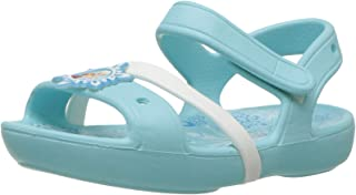 Crocs Kids' Girls Elsa & Anna Frozen Flat Sandal