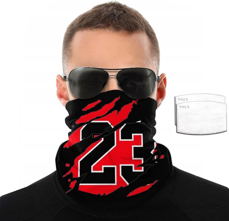 Jordan Basketball 23 Michael Neck Gaiter Warmer Windproof Face Masks Scarf