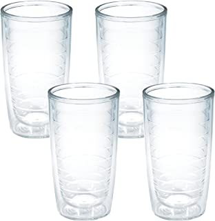 Tervis 4-Pack Tumbler, 16-Ounce, Clear - 1005763
