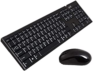 STAPLES 1640649 Wireless Keyboard & Mouse Black (28036)