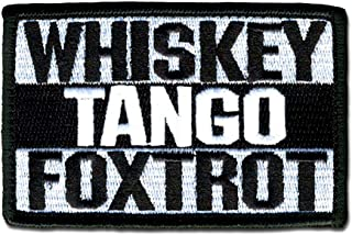 Bastion Tactical Combat Badge Military Hook and Loop Badge Embroidered Morale Patch - Whiskey Tango Foxtrot BNW