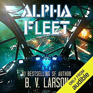 Alpha Fleet     Rebel Fleet, Book 3              Written by:                                                                                                                                 B. V. Larson                               Narrated by:                                                                                                                                 Mark Boyett                      Length: 10 hrs and 51 mins     18 ratings     Overall 4.6