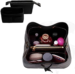 Purse Organizer,Bag Organizer,Insert purse organizer with 2 packs in one set fit LV NeoNoe Noé Series perfectly