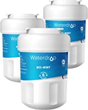 Waterdrop MWF Refrigerator Water Filter, Compatible with GE Smart Water MWF, MWFINT, MWFP, MWFA, GWF, HDX FMG-1, Kenmore 9991, r-9991, GSE25GSHECSS, WFC1201, RWF1060, 197D6321P006, 3 Filters