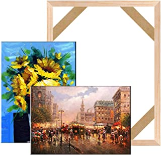 Canvas Stretcher Bars Frame,Framed Picture Accessories,Wood Canvas Frame Kit,DIY Art Canvas Frames, 40.6x50.8cm (16x20 Inch)